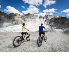 Le glacier de Tortin pour se donner des envies de ski ou d'alpinisme. MELODY SKY