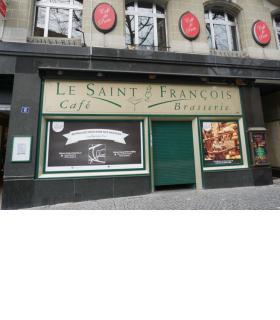 Le Café-Brasserie Le Saint-François a fermé ses portes. kottelat