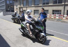 Une tenue trop légère en deux-roues motorisé peut avoir des conséquences dramatiques en cas d'accident. DR