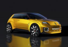Le prototype Renault 5 fait référence au passé, symbolisant la voiture électrique accessible, moderne et connectée.