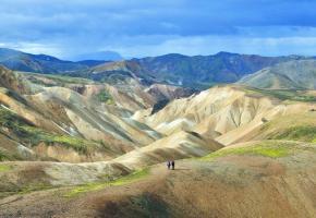 Les Landmannalaugar (hauts plateaux islandais) semblent appartenir à une autre planète. RETO HÜGLI