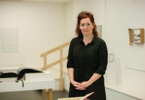 Clothilde Wuthrich, dans les locaux de l'Espace Culturel.  Elle devrait prochainement reprendre les rênes de l'association. MISSON