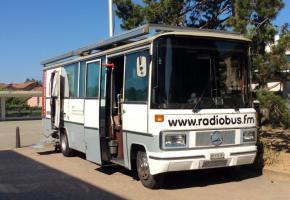 Le RadioBus va prendre ses quartiers Place Pépinet durant toute la durée des JOJ. DR