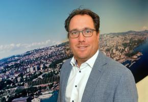 Steeve Pasche, directeur de Lausanne Tourisme. VERISSIMO