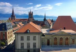 La cathédrale de Lausanne aurait été construite entre 1170 et 1235. DR