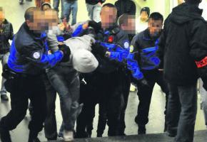 Face à la recrudescence de violence, la police semble parfois débordée.