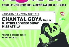 Soirée 90's avec Chantal Goya