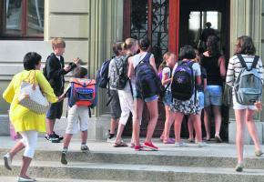 François Meylan estime que les écoles morgiennes ne sont pas assez surveillées. VERISSIMO