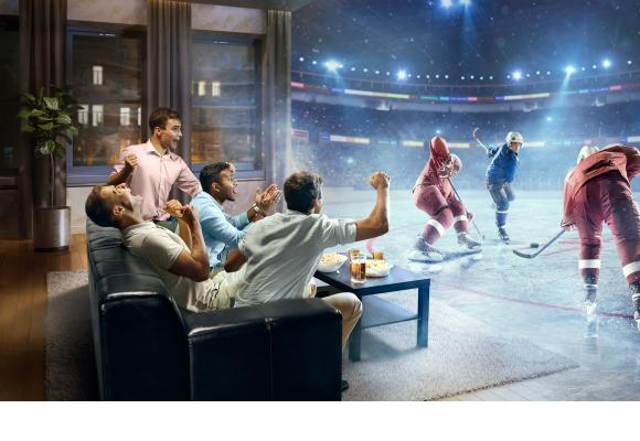 Le hockey sera particulièrement à l'honneur sur la nouvelle chaîne proposée par Citycable. GETTY IMAGES / DMYTRO AKSONOV