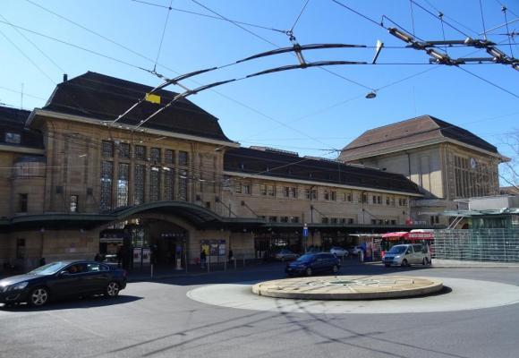 Les piétons seront prioritaires sur l'ensemble du périmètre autour de la gare. DR