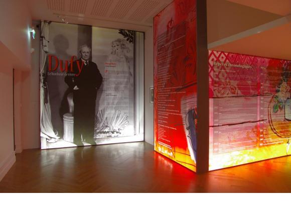 """Evian:""""Raoul Dufy, le bonheur de vivre"""""""