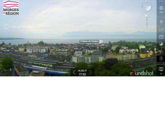 Une magnifique vue sur la ville, capture d'écran.