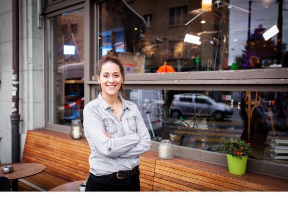 Il a fallu 4 mois de travail acharné à Adélie, en plus de son emploi à 80%, pour remporter la palme.