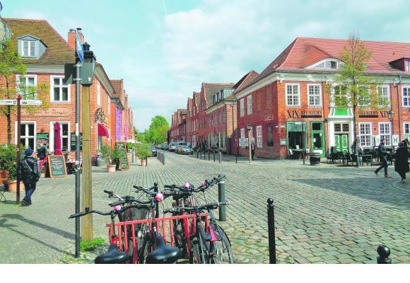 Le quartier hollandais aligne cafés et boutiques.