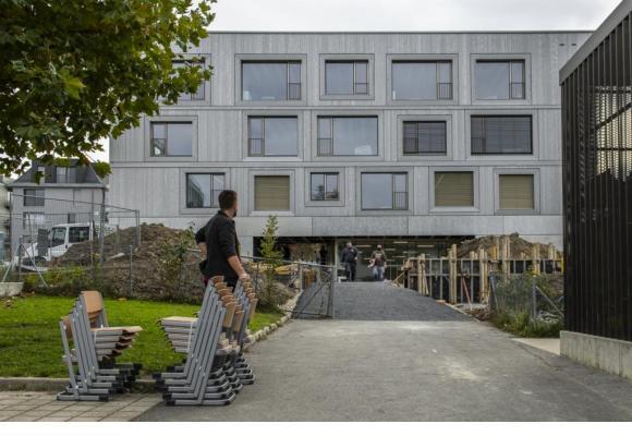Ce site scolaire est le premier construit à Lausanne depuis 25 ans. MARINO TROTTA