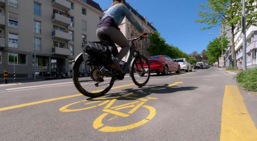 Les pistes cyclables créées resteront en place.  VILLE DE LAUSANNE / LAURENT KACZOR