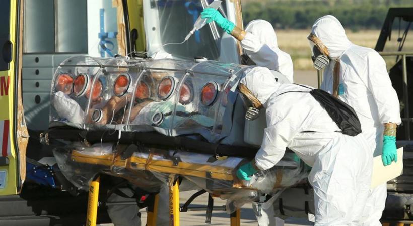 A Madrid, le premier cas de fièvre Ebola a créé la panique. DR