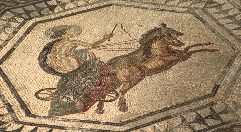 Le canton semble totalement se désintéresser des mosaïques romaines de la villa Boscéaz. dr