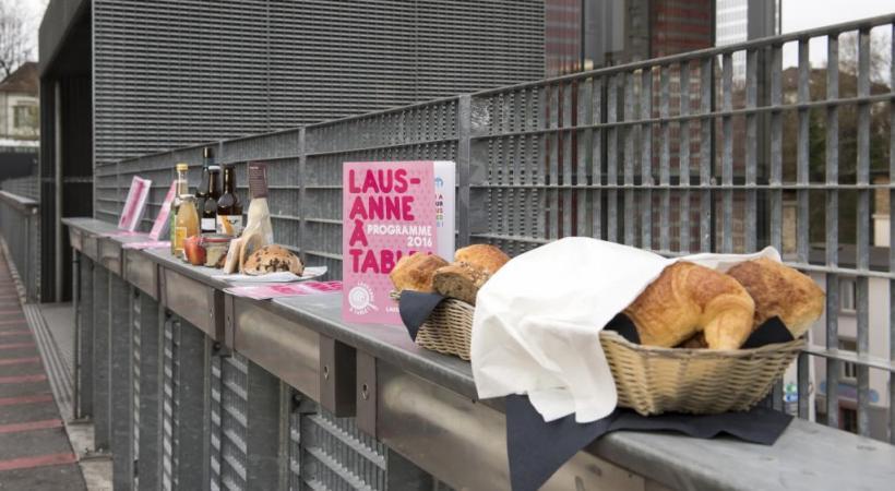 Lausanne à Table. ELISE HEUBERGER
