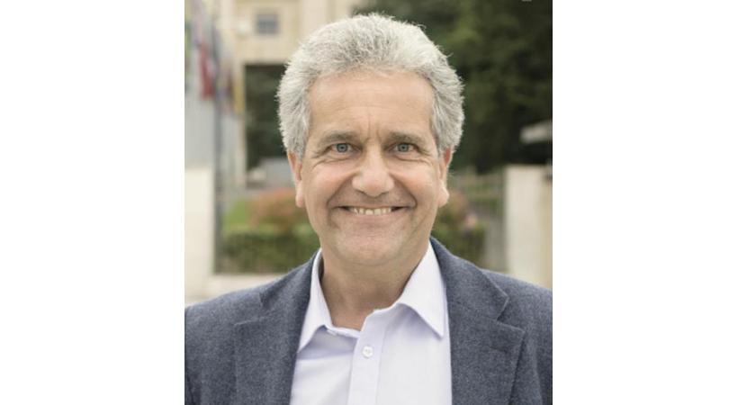 Jean Rossiaud, porte-parole de l'association Monnaie Léman