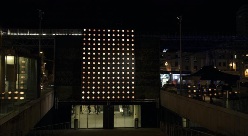 «Dots», Philippe Morvan, Place de l'Europe. dr