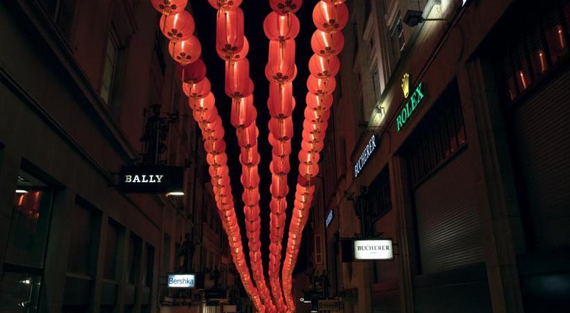 «Chinatown», Ocubo, rue Saint-François. dr