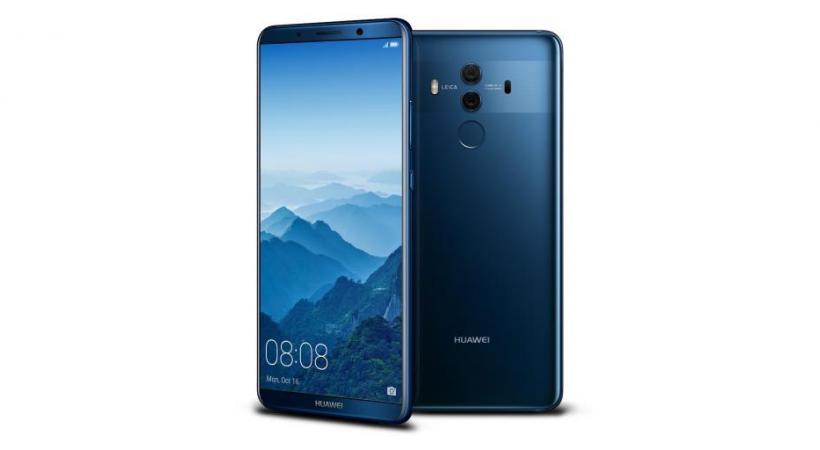 L'intelligence artificielle au bout des doigts Huawei Mate 10 Pro