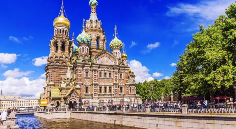 Le musée de l'Ermitage, chef-d'œuvre au niveau des objets exposés et des bâtiments qui le composent. 123RF/DELCREATIONS
