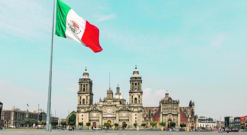 La Plaza de la Constitución et sa cathédrale métropolitaine, le lieu où convergent tous les festivals et événements. 123RF/ DIEGO GRANDI