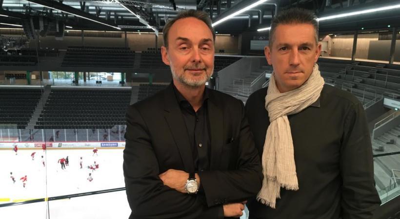 Chris Wolf et Christophe Huybrechts évoquent des problèmes de jeunesse.  WULLSCHLEGER