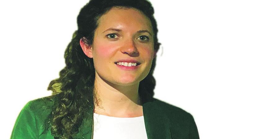 Valentine Giesser, Conservatrice de la Maison du Blé et du Pain. DR