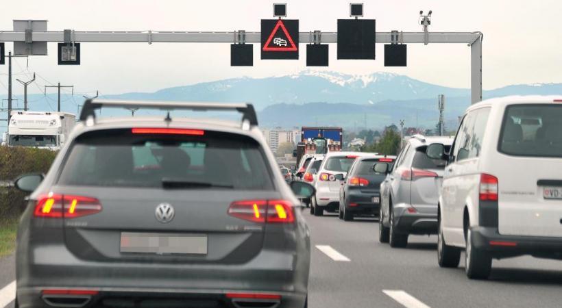 L'autoroute Lausanne-Genève n'a pas été adaptée à l'augmentation du trafic et de la population. VERISSIMO